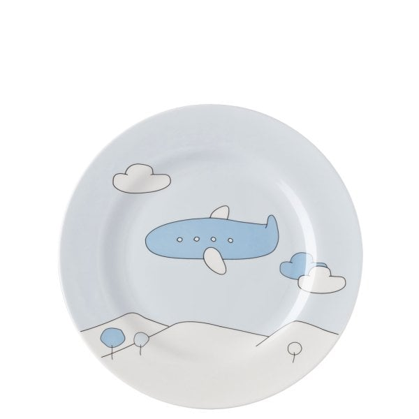 Kinderset 7tlg. Kids Blue Plane