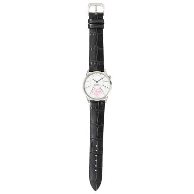 Wrist watch Lady Cherry Blossom silver-rose-black