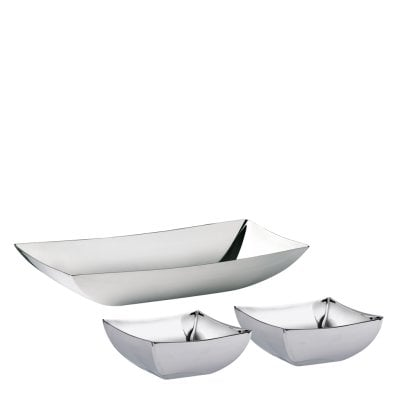 Small bowl set Linea Q Stainless steel 18/10