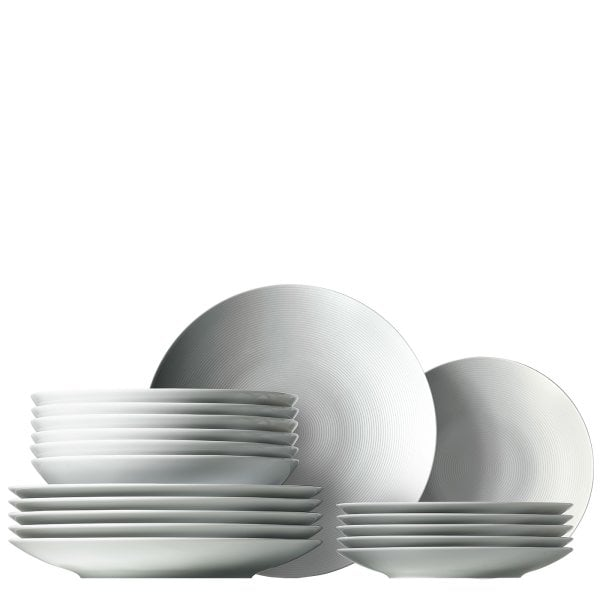 Set 18 pcs. Loft by Rosenthal White