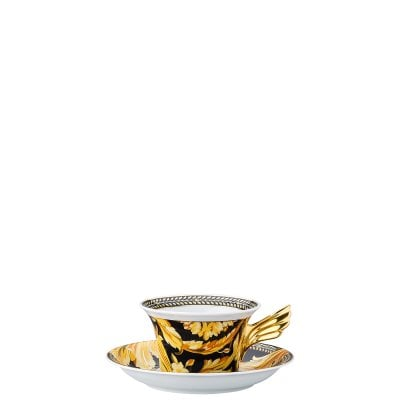 Tea cup & saucer / 25 years Versace Vanity