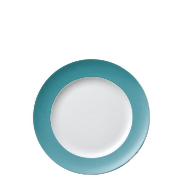 Assiette plate 22 cm Sunny Day Turquoise