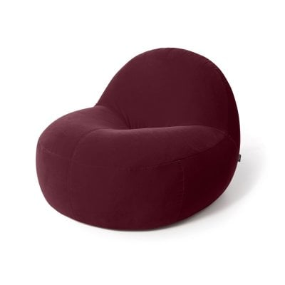 Armchair SCOOP Wine Red Fabric