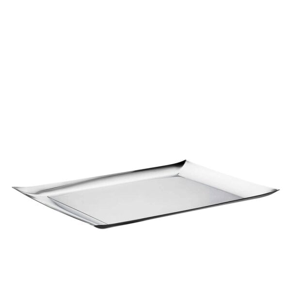 Oblong tray 52 x 33 cm Linea Q Stainless steel 18/10