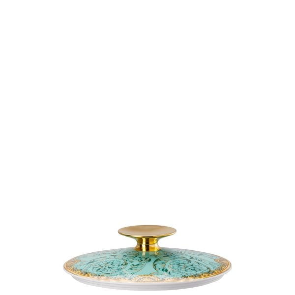 Covered vegetable bowl lid Versace Scala Palazzo Verde