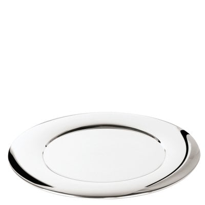 Platzteller 32 cm Sphera Stainless steel polished