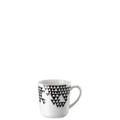 Mug with handle large Magic Garden Black Seeds