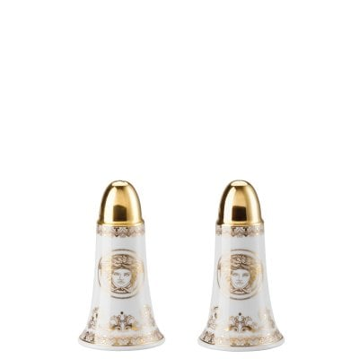 Salt+pepper set 2 pcs. Versace Medusa Gala