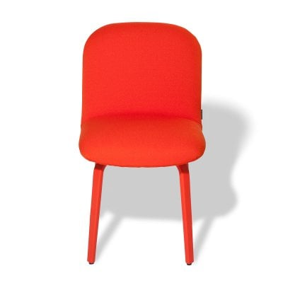 Chaise sans accoudoirs BOLBO Orange Tissu