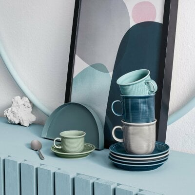 Mug with handle large Trend Colour Moss Green