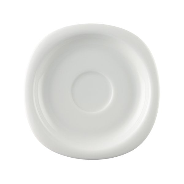 Saucer 4 tall & 4 low Suomi White