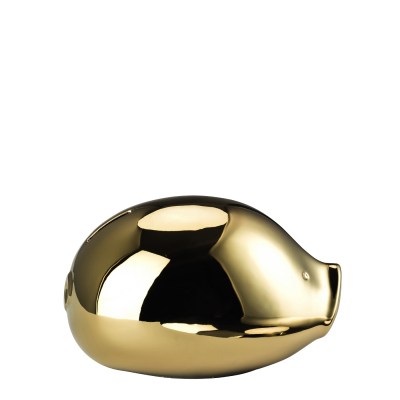 RORO money-box RORO Collection Gold titanisiert