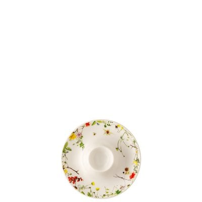 Egg cup with deposit Brillance Fleurs Sauvages