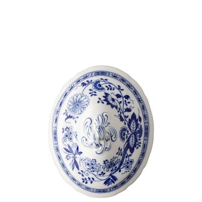 Covered vegetable bowl lid Blau Zwiebelmuster