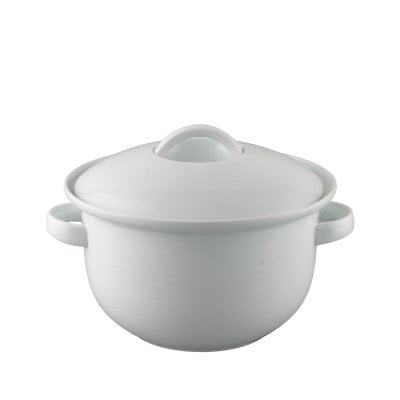 Soup tureen 2 Trend White