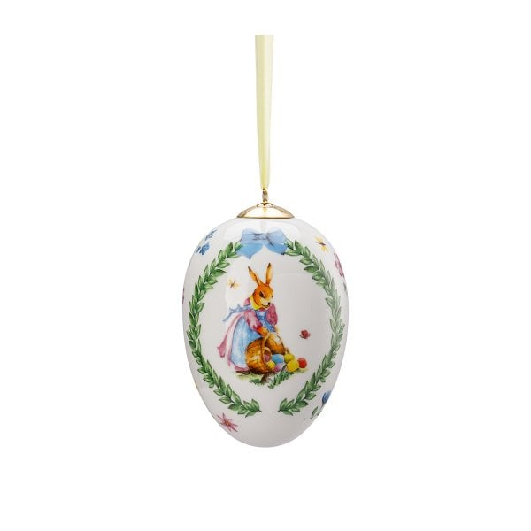 Porcelain medium-egg Decoration series Eiersammeln