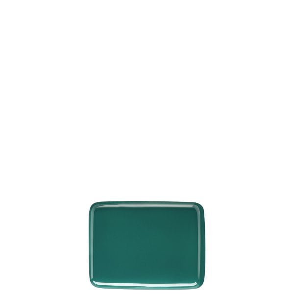 Butter dish lid Sunny Day Seaside Green