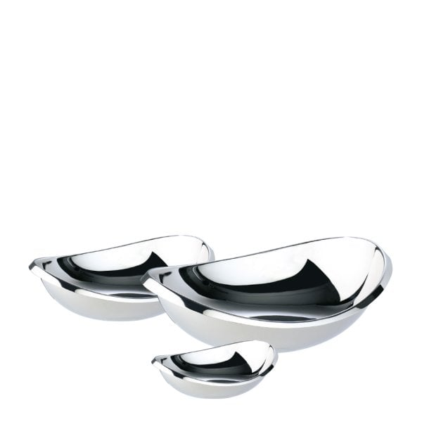 Bowl set Twist Stainless steel 18/10