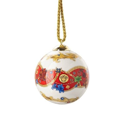 Porcelain ball Versace Barocco Holiday