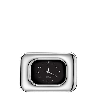 Table-clock 9 x 13 cm Silver Collection FullMoon