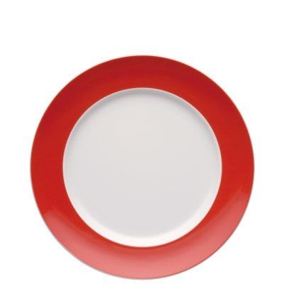 Assiette plate 27 cm Sunny Day New Red