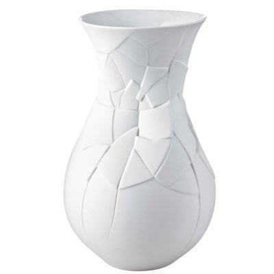 Vaso 30 cm Vase of Phases Weiß matt