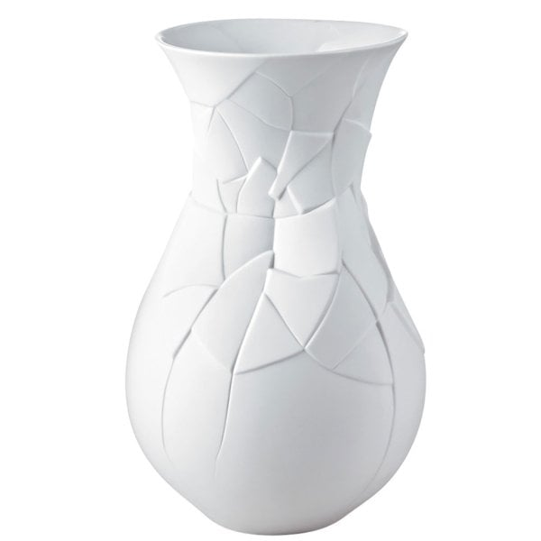 Vase 30 cm Vase of Phases White-mat
