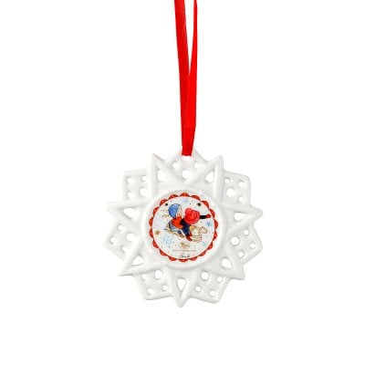 Star ornament Sammelkollektion 2018 Winterfreuden-Schlitten