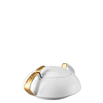 Covered vegetable bowl TAC Gropius Skin Gold
