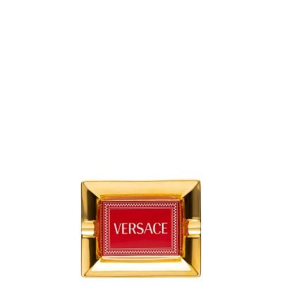 Ashtray 13 cm Versace Medusa Rhapsody Red