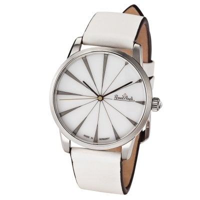 Wrist watch Lady Sunray silver-white-white