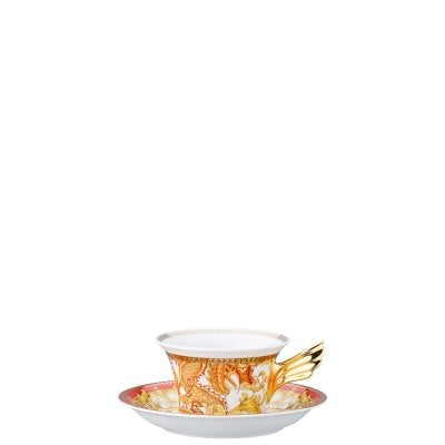 Tea cup & saucer / 25 years Versace Asian Dream