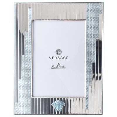 Picture frame 13 x 18 cm Versace Frames VHFYB - Silver blue