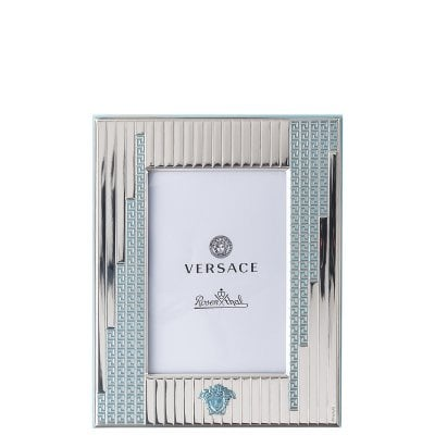 Picture frame 9 x 13 cm Versace Frames VHFYB - Silver blue
