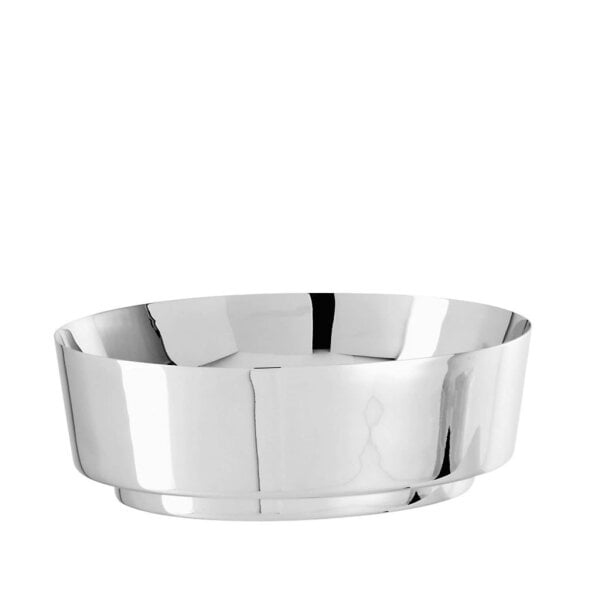 Bread basket oval 21 x 18 cm t-light Stainless steel 18/10