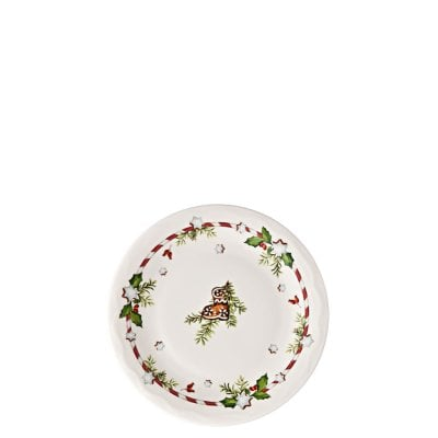 Plate flat 17 cm Decoration series Weihnachtsleckereien