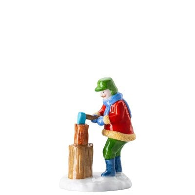 Lumberjack Figurines Christmas bakery