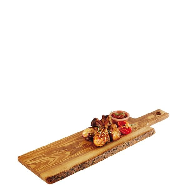 Cutting board 40 x 15 cm Tavola Table Olivenholz