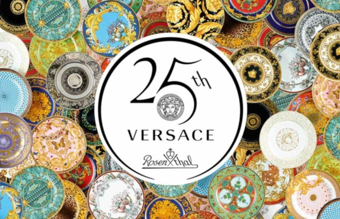 - 25 legendary designs tell the story of the extraordinary collaboration between Rosenthal and Versace