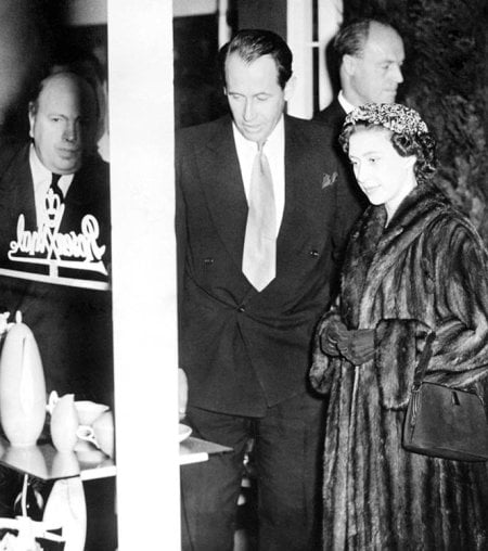 - Visit by Princess Margaret