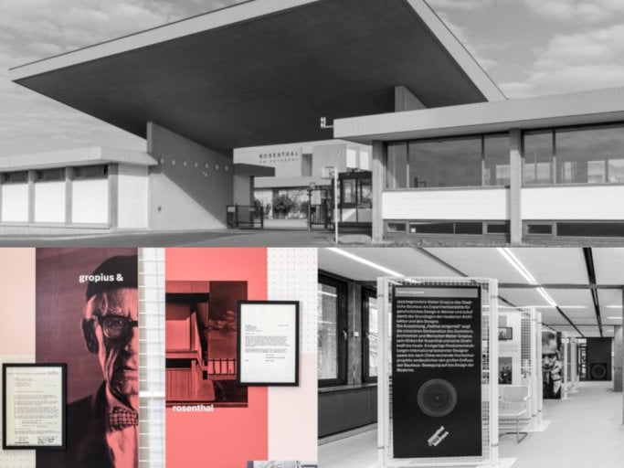 "- In the anniversary year, Rosenthal gets closer to the work of Walter Gropius with the exhibition ""radically contemporary""."